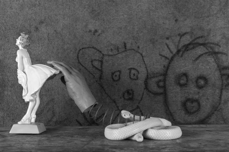 Sneak_2016 (c) Roger Ballen - CENTRALE for contemporary art