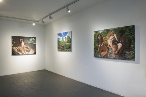 Vue d'exposition - Jérôme Tellier - Fenêtres 2 (c) Philippe De Gobert - CENTRALE.lab