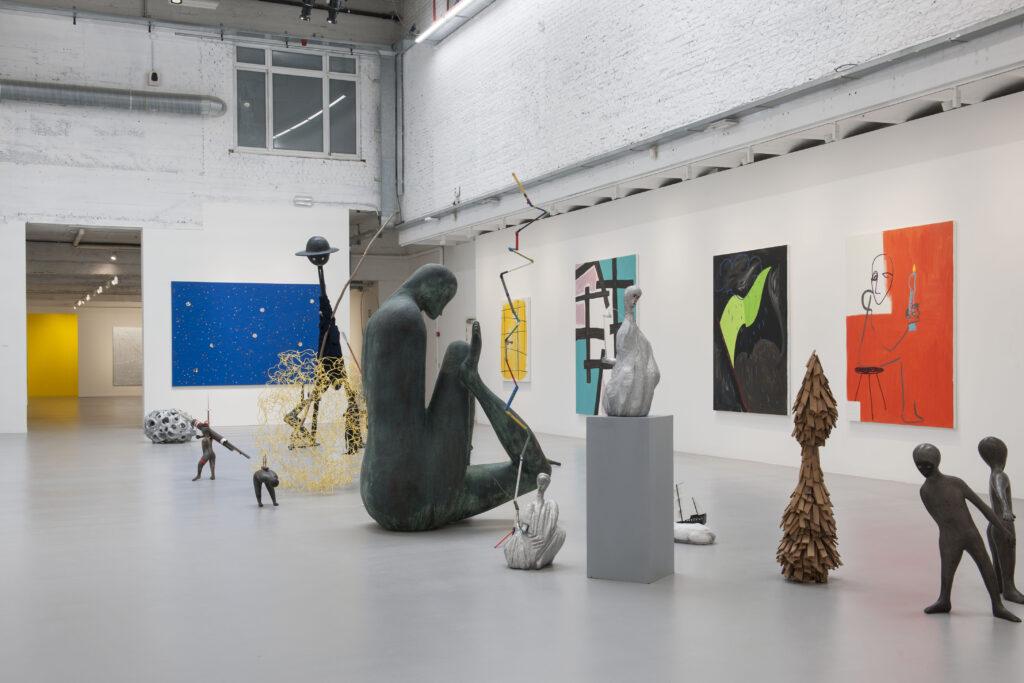 Zicht op de tentoonstelling 10 – Panorama © Philippe De Gobert